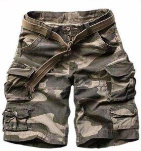 Новые мужские шорты с карманами