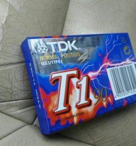 Аудиокассета TDK T-1 90