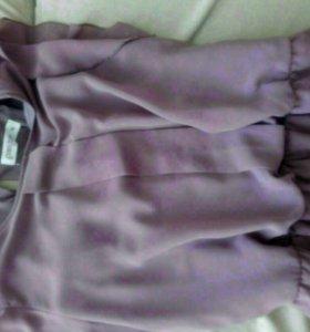 Платье летнее на резинке р. 46