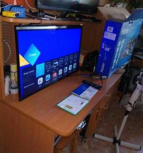 Телевизор haer smart tv WI-FI