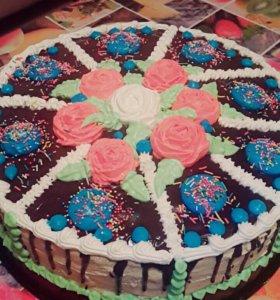 Домашние тортики, капкейки и выпечка