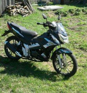 Мотоцикл.Индиго шторм.