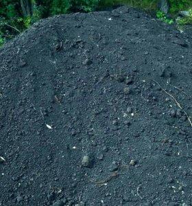 Чернозем,песок,щебень с доставкой.