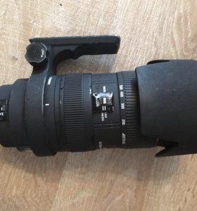 Canon 40D и Sigma 50-500mm 1:4-6.3 APO DG HSM