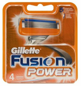 Gillette Fusion Power,оригинал (германия-австрия)