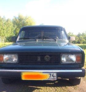 ВАЗ-2105, четкий пятак