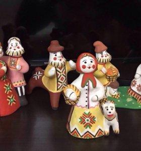 Каргопольская коллекционная игрушка