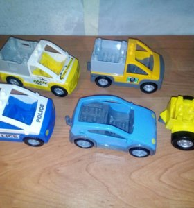 Lego duplo машинки вагоны