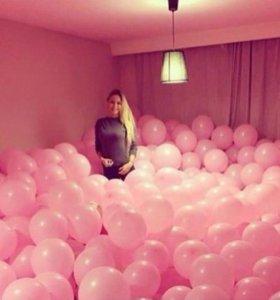 Воздушные шары на пол и под потолок