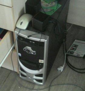 Монитор системник клавиатура мыш 2 диска