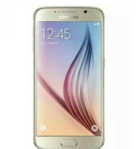 Samsung s6 копия золотой