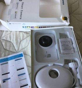 Wi-Fi камера новая, запись видео и звука, online