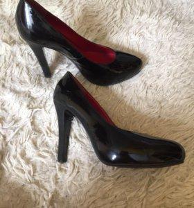 Туфли женские кожа лакированные