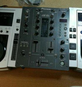 DJ комплект Pioneer CDJ-100S Pioneer DJM-400