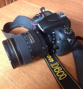Nikon D600, AF-S Nikkor 24-120mm 1:4 G ED VR IF