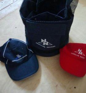 Рюкзак и 2 кепки с эмблемой NN! Талнах