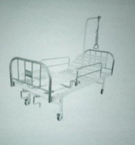 Кровать медицинская функциональная механическая +