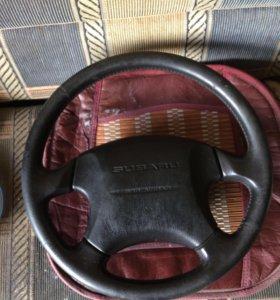 Руль с подушкой subaru