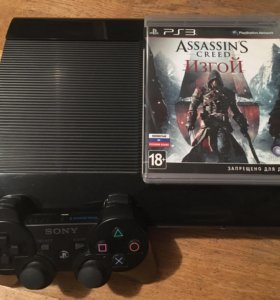 Sony PlayStation 3+ джойстик+игра Assassin creed
