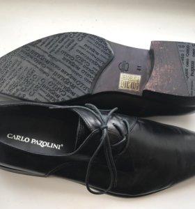 Мужские туфли кожаные б/у Carlo Pozolini