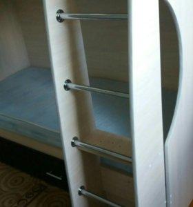 Кровать двухярусная БЕМБИ 4