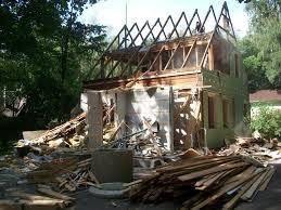 Снос ветхих строений, пожарищ постройка новых