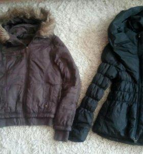 Куртки весенние 44-46 р-ра