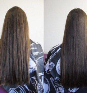 Полировка секущихся волос насадкой HG polishen