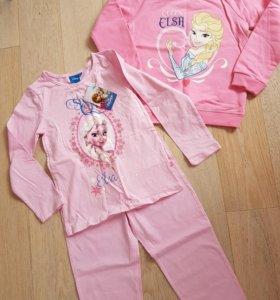 Новые пижама и свитшот Эльза