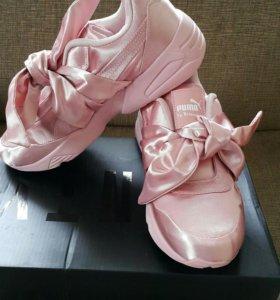 Puma by Rihanna. Розовые