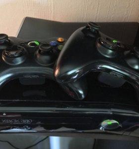 Xbox 360 slim + игры
