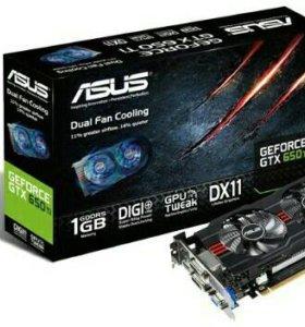 Видеокарта Asus GTX 650 ti 1 GB