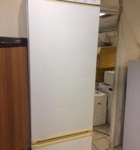 Двухкамерный холодильник канди 2м