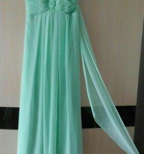 Платье длинное 44-46 качество люкс