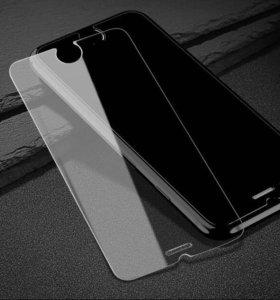 Защитное закалённое стекло iphone 5/SE/6/6+/7/7+