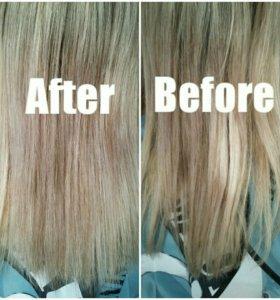 Профессиональная полировка волос