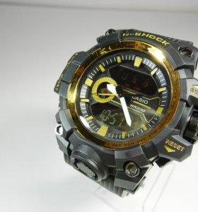Мужские часы Джишок золотой