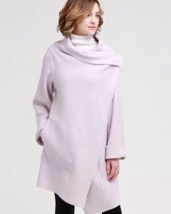 Пальто легкое накидка д46-48