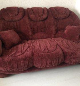 Комплект мебели 2 дивана кресло 1