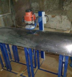 Копировально-фрезерный станок для гнутых фасадов
