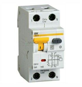 Выключатель дифференциального тока( дифавтомат ).