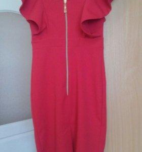 Красные платья новые