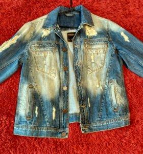 Пиджак мужской джинсовый
