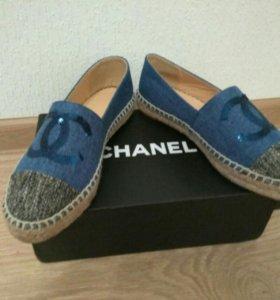 Эспадрильи Chanel
