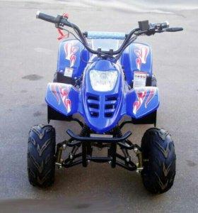 Детский квадроцикл на резиновых колесах, скидка