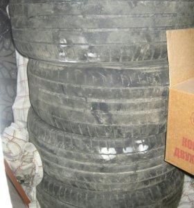 Продам летнюю резину, 205/55/R16, 4 колеса
