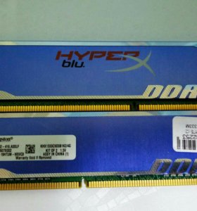 DDR3 Kingston HYPER 8GB (1333Мгц)