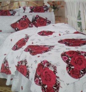 Белье постельное .скатерти.полотенца