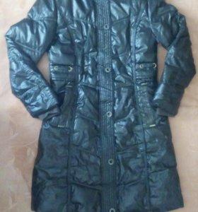 Пальто куртка р.44 + ботильоны р.36