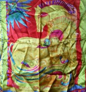 Шейный платок. 100% шёлк